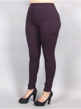 LEGGING CRINKLE BORDEAUX