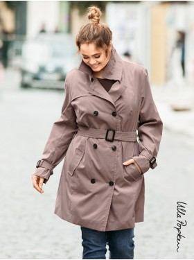 Trench-coat Mauve