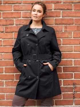 Trench-coat Noir