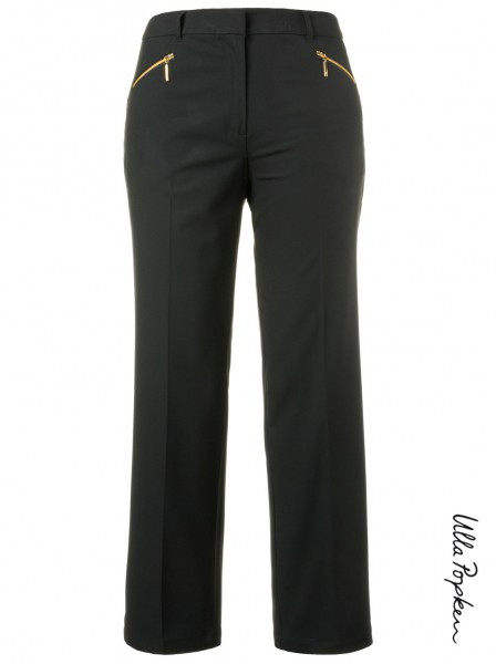 Pantalon zip noir