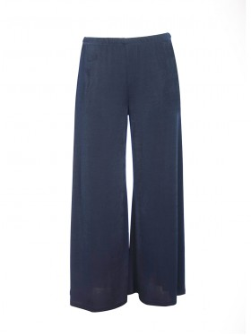 Pantalon Large Basic Marine