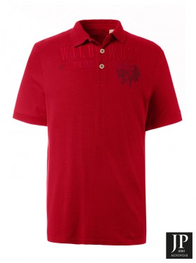 Polo design JP 1880 rouge