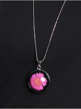 Collier Marguerite Rose