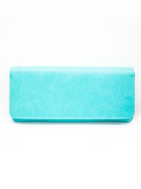 Pochette Simple Turquoise