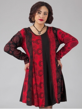 Robe Mandala Rouge