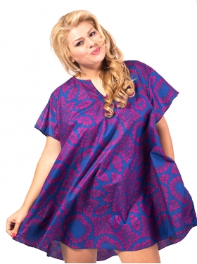 Robe Tunique Violet