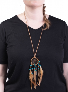 Collier Dreamcatcher Choco