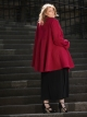 Manteau Edmond Boublil Rouge