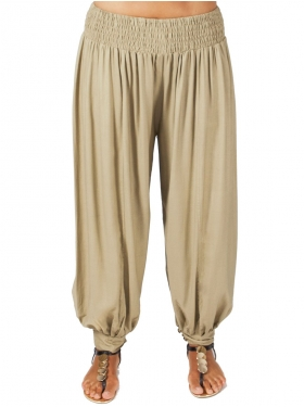 Pantalon sarouel sable
