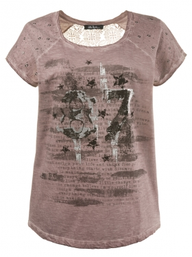 T-shirt Ulla Popken rose