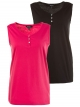 Lot de 2 tops Ulla Popken