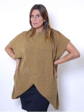 Cape maille camel