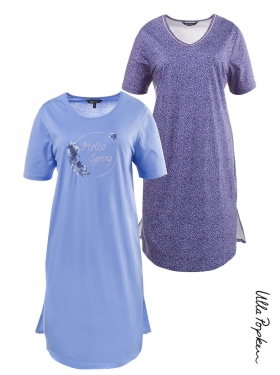 Lot de 2 Big t-shirts Ulla Popken