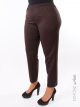 Pantalon Edmond Boublil marron