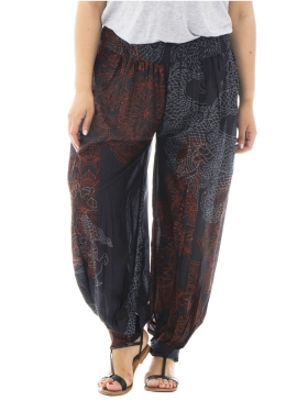 Pantalon dragon ample noir