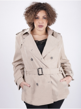 Trench Beige matière douce