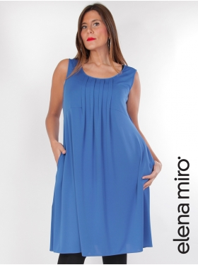 Robe tunique Elena Miro bleue