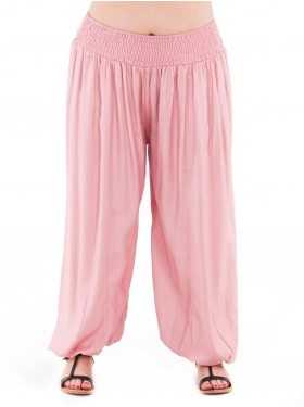 Pantalon Sarouel rose