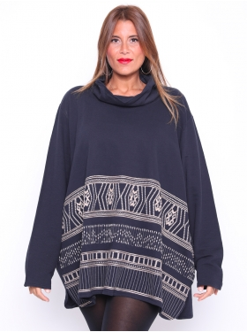Sweat-shirt Ulla Popken marine