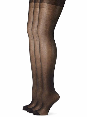 Lot de collants noir Ulla Popken