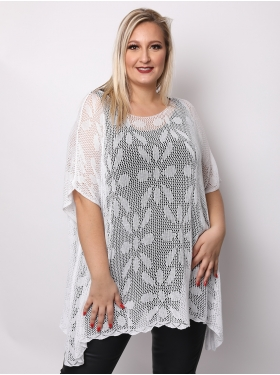 Tunique oversize blanc