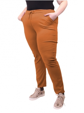 Pantalon type chino orange (manque photos)