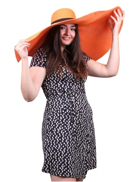 "Chapeau ""Oversized"" Orange"