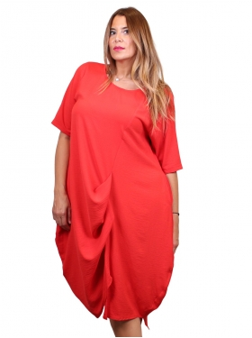 "Robe ""Bamba"" rouge"