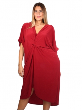 Robe rouge unie