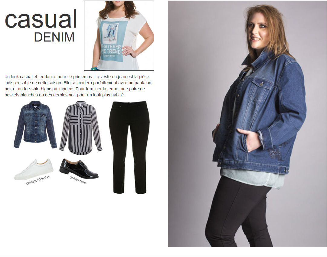 Style casual denim